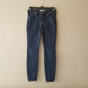 Bullhead Jeans - Bullhead Dark Denim Skinny Jeans Jegging